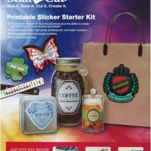 Brother ScanNCut Startpakket printbare stickers