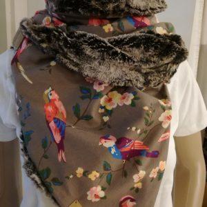 Sjaal imitatiebont