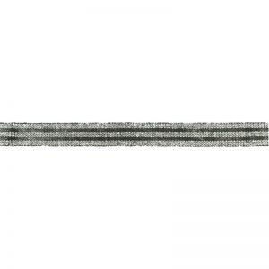 Galon opstrijkbaar strass 18 mm