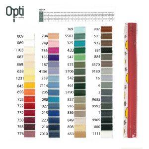 Opti S40 rits – niet deelbaar – 12 cm