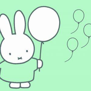Jogging Nijntje ballonnen