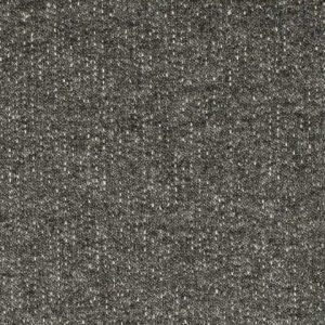 French Terry – Plain dyed melange – zwart