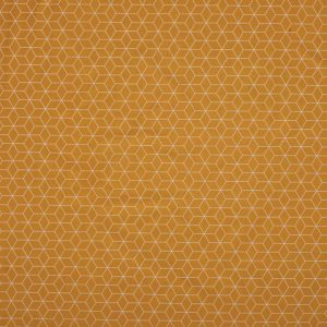 Poplin Small Hexagon – okergeel