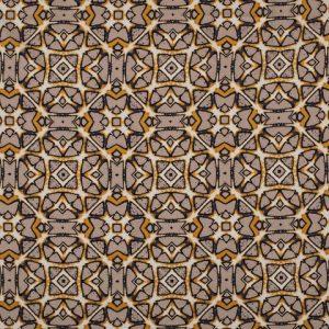 Viscose bedrukt met batik print