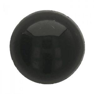 Dierenogen zwart 18 mm.