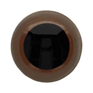 Dierenogen tweekleurig 10 mm.