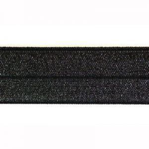 elastisch biaisband zwart